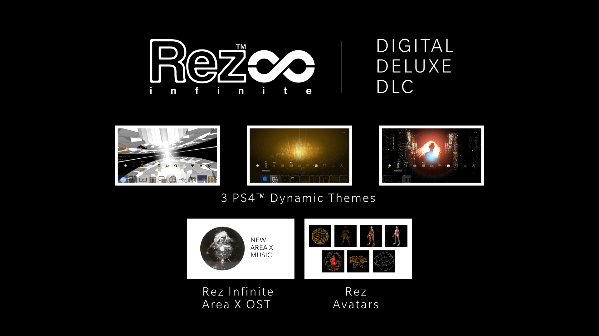 Singularity Dynamic Theme and Digital Deluxe DLC for PS4 | Rez Infinite